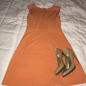 BCBG Orange Dress